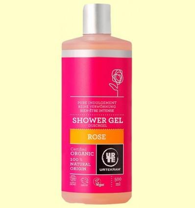 Gel de Dutxa de Roses Bio - Urtekram - 500 ml