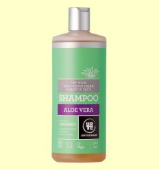 Xampú d'Aloe Vera Cabell Sec Bio - Urtekram - 500 ml