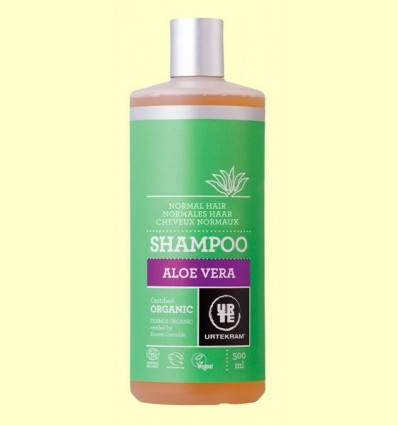Xampú d'Aloe Vera Cabell Normal Bio - Urtekram - 500 ml