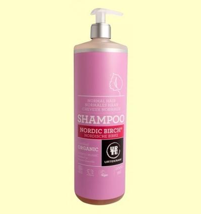 Xampú de Bedoll Cabell Normal Bio - Urtekram - 1 litre