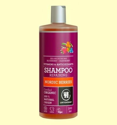 Xampú de Bayas nòrdiques Bio - Urtekram - 500 ml
