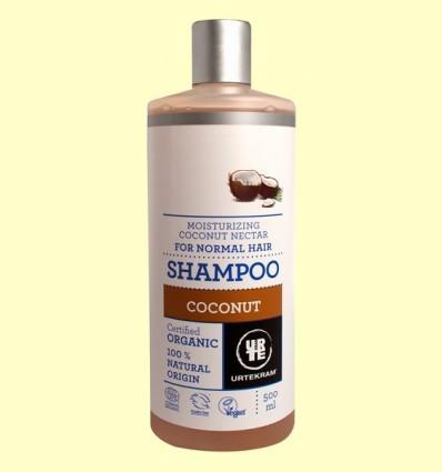 Xampú de Coco Bio - Urtekram - 500 ml