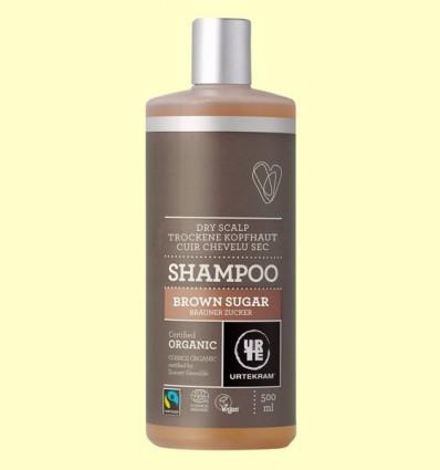 Xampú de Sucre de Canya Bio - Urtekram - 500 ml
