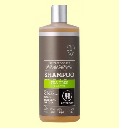 Xampú de l'Arbre del Te Bio - Urtekram - 500 ml