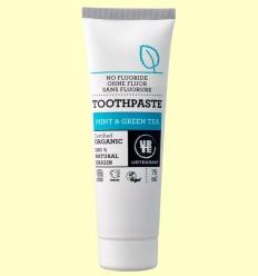 Pasta de Dents de Te Verd i Menta Bio - Urtekram - 75 ml