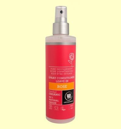 Condicionador de Rosa en Spray Bio - Urtekram - 250 ml