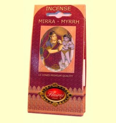 Encens Con Mirra - Myrrh - Flaires - 12 cons ******