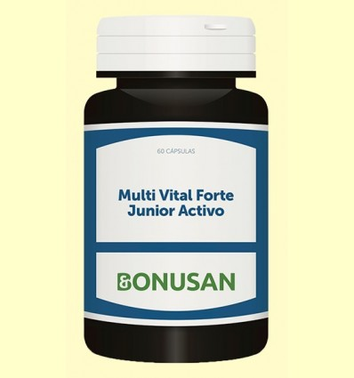 Multi Vital Forte Junior Actiu - Bonusan - 60 càpsules *