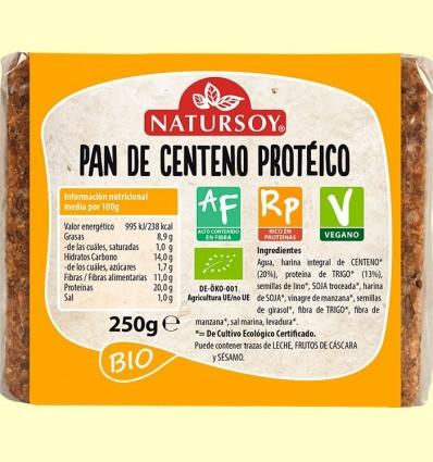 Pa de Sègol Proteic Bio - Natursoy - 250 grams