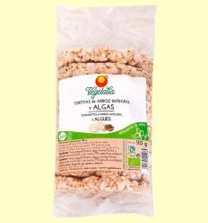 Galetes d'Arròs Integral i Algues Bio - Vegetalia - 110 grams