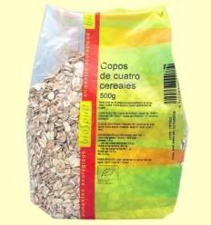 Flocs de Quatre Cereals Bio - BioSpirit - 500 grams *