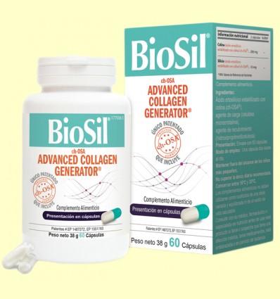 BioSil - Per Pell, Cabell, Ungles, Articulacions i Ossos - 60 càpsules *