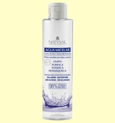 Aigua Micelar amb Àcid Hialurònic - Natysal - 250 ml