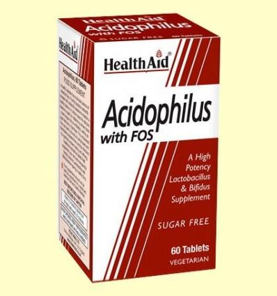 Acidophilus amb Fos - Health Aid - 60 comprimits