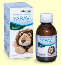Yaraví Tus - Xarop Infantil - derbós - 150 ml