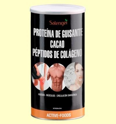 Col·lagen amb Proteïna de Pèsol i Cacau - Salengei - 500 grams