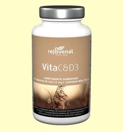 Vita C & D3 - Rejuvenal - 250 pastilles