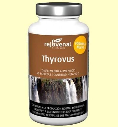 Thyrovus - Funció tiroidea - Rejuvenal - 90 pastilles