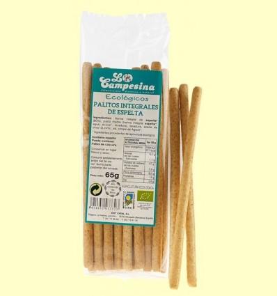 Bastonets Integrals d'Espelta Eco - la Campesina - 65 grams