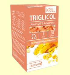 Triglicol Krill - Dietmed - 30 càpsules