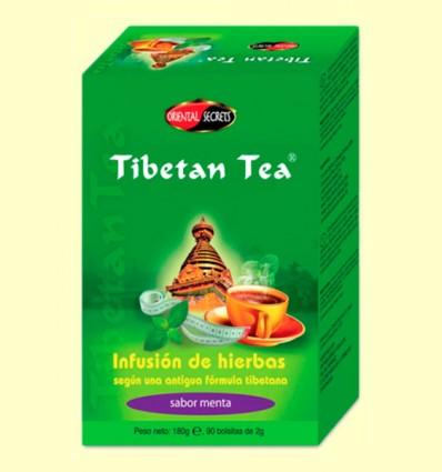 Tibetan Tea - Infusió d'herbes - Sabor Menta - 90 bossetes