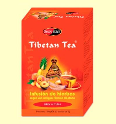 Tibetan Tea - Infusió d'herbes - Sabor Fruites - 90 bossetes