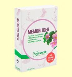 Memorlíder - Memòria - Naturlider - 30 càpsules