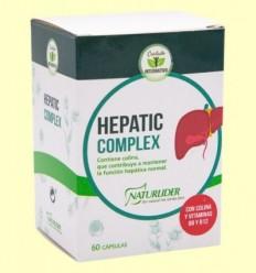 Hepatic Complex - Naturlider - 60 càpsules
