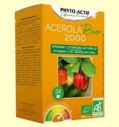 Acerola Bio 2000 - Phyto Actif - 24 comprimits