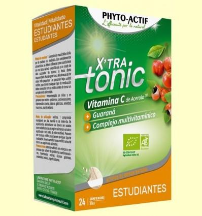 X'Tra Tonic Estudiants - Phyto Actif - 24 comprimits