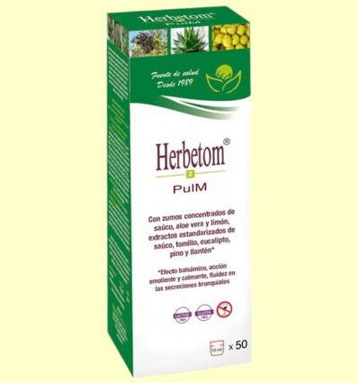 Herbetom 2 PM Pulmonar - Bioserum - 500 ml