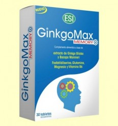 GinkgoMax Memory - Laboratorios ESI - 30 pastilles