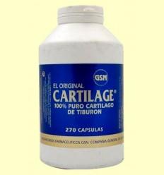 cartilage Original - GSN Laboratorios - 270 càpsules