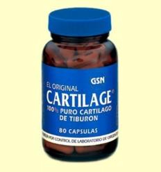 cartilage Original - GSN Laboratorios - 80 càpsules