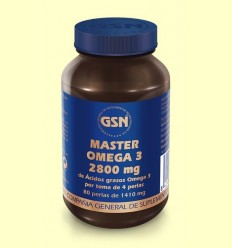 Màster Omega març 2800 mg - GSN Laboratorios - 80 perles