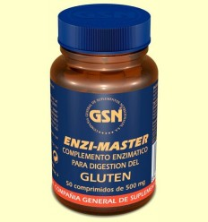 Enzi Màster - Intolerància gluten - GSN Laboratorios - 60 comprimits