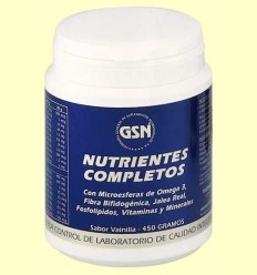 Nutrients Complets Vainilla - GSN Laboratorios - 450 grams