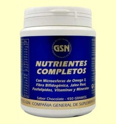 Nutrients Complets Xocolata - GSN Laboratorios - 450 grams