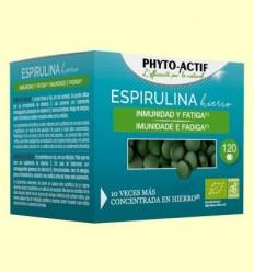 Espirulina Ferro Bio - Phyto Actif - 120 comprimits