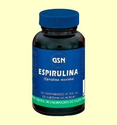 Espirulina - GSN Laboratorios - 120 comprimits