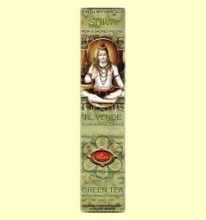 Encens Shiva Te Verd - Flaires - 16 barretes