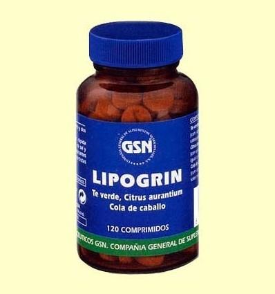 Lipogrin - GSN Laboratorios - 120 comprimits