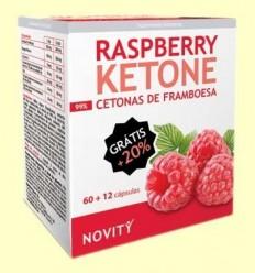 Cetones de Gerd - Raspberry Ketone - Novity - 72 càpsules