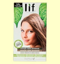 Tint Cabell Lif Hair Colors 5.0 N - Marró Natural - DietMed - 1 kit