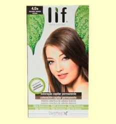 Tint Cabell Lif Hair Colors 4.0 N - Marró Natural - DietMed - 1 kit