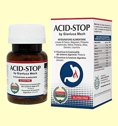 Acid-Stop Tisano Complex - Gianluca Mech - 30 comprimits