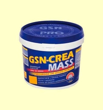 GSN Crea Mass Taronja - GSN Laboratorios - 2 kg