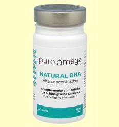 Natural DHA Alta Concentració - Puro Omega - 20 perles
