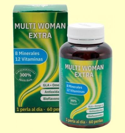 MultiWoman Extra - Complex vitamínic - Espadiet - 60 perles