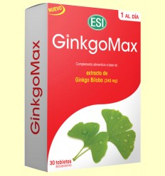 GinkgoMax - Laboratoris ESI - 30 tabletes